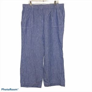 Linen Chico's pants